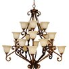 <strong>Scroll 20 Light Chandelier</strong> by Craftmade