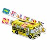 Pacon Corporation Big School Bus Reward Sticker, 800 Stickers Per Box