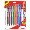Pentel of America, Ltd. Wow! Ballpoint Retractable Pen, 8 Per Pack