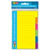 "Redi-Tag Corporation 4"" x 6"" 60 Count Divider Note"