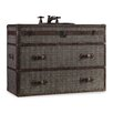 "Cole + Company Designer Series 46"" Sutherland Travel Chest Vanity Base"