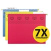 Smead Manufacturing Company Tuff Hanging Folder with Easy Slide Tab, 15/Pack