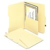 <strong>Smead Manufacturing Company</strong> Manila Self-Adhesive Folder Dividers with Twin-Prong Fastener, 25/Pack