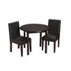 Gift Mark Children's 3 Piece Round Table and Chair Set