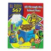 Teacher Created Resources Sticker Book All Through The School Year, 567/Pack