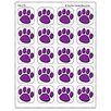 Teacher Created Resources Stickers Purple Paw Prints