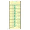 Tops Business Forms Time Card for Cincinnati, Lathem, Simplex, Job Card, 1-Sided, 500/Box