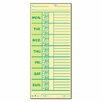 Tops Business Forms Time Card for Pyramid Model 331-10, Weekly, Two-Sided, 500/Box