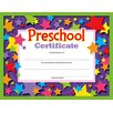 <strong>Preschool Certificate 30/pk</strong> by Trend Enterprises