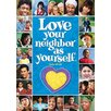 <strong>Argus Large Poster Love Your</strong> by Trend Enterprises