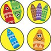 Trend Enterprises Superspots Stickers Crayon Color
