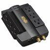 <strong>Direct Plug-In Home/Business Theater Surge Suppressor, 6 Outlets</strong> by Tripp Lite