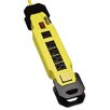 Tripp Lite Safety Power Strip 6 Outlets, 9 Ft Cord with GFCI Plug