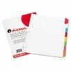 Universal® Write-On/Erasable Indexes, 8/Set