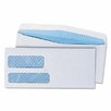 Universal® Double Window Business Envelope, #9, 500/Box
