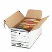 <strong>Economy Storage Box with Tie Close, 4/Carton</strong> by Universal®