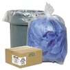 Classic Clear Clear Low-Density Can Liners, 7-10 Gal, .6 Mil, 24 X 23, 500/Carton