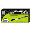 Zebra Pen Corporation Jimnie Roller Ball Stick Gel Pen, Medium, 24 Per Box