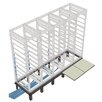 """<strong>RIB Series Raised Floor Support Angles, for DRK 31"""" racks</strong> by Middle Atlantic"""