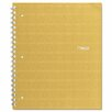 <strong>Mead</strong> Recycled Notebook, 8 1/2 x 11, 80 Sheets, College Ruled, Perforated, Assorted