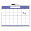 "<strong>Magnetic Monthly Planner 1'5"" x 1'11"" Whiteboard</strong> by The Board Dudes"