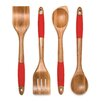 Lipper International 4 Piece Cooking Utensil Set