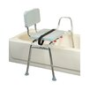 Transfer Bench with Padded Seat / Back
