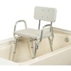 <strong>Shower Chair with Molded Seat / Back and Arms</strong> by Eagle Health
