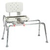 <strong>Transfer Bench with Cut-Out Molded Swivel Seat and Back</strong> by Eagle Health