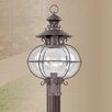 <strong>Livex Lighting</strong> Harbor 1 Light Outdoor Post Lantern