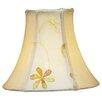 "Livex Lighting 6"" Silk Bell Clip Chandelier Shade"