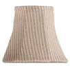 """<strong>5"""" Light Rattan Bell Clip Chandelier Shade</strong> by Livex Lighting"""