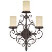 <strong>Livex Lighting</strong> Millburn Manor 3 Light Wall Sconce