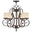 <strong>Millburn Manor 5 Light Candle Chandelier</strong> by Livex Lighting
