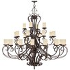 <strong>Livex Lighting</strong> Millburn Manor Candle Chandelier