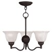 <strong>Essex 3 Light Mini Chandelier</strong> by Livex Lighting