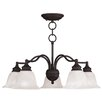 <strong>Essex 5 Light Chandelier</strong> by Livex Lighting