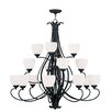 <strong>Livex Lighting</strong> Brookside 16 Light Chandelier