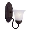 <strong>Livex Lighting</strong> Home Basics 1 Light Wall Sconce