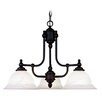 <strong>Livex Lighting</strong> North Port 3 Light Chandelier