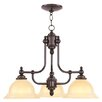 <strong>North Port 3 Light Chandelier</strong> by Livex Lighting
