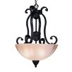 <strong>Homestead 3 Light Inverted Pendant</strong> by Livex Lighting