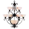 <strong>Homestead 11 Light Chandelier</strong> by Livex Lighting