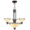 <strong>Livex Lighting</strong> Matrix 6 Light Chandelier
