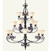 <strong>Livex Lighting</strong> Tuscany 15 Light Chandelier