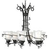 <strong>Livex Lighting</strong> Empire 6 Light Chandelier