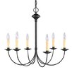 Heritage 6 Light Chandelier