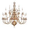 <strong>Livex Lighting</strong> Beacon Hill 21 Light Chandelier