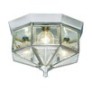 <strong>Flush Mount in Brushed Nickel</strong> by Livex Lighting