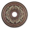 <strong>Ceiling Medallion in Palacial Bronze with Gilded Accents</strong> by Livex Lighting